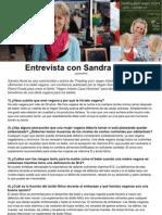 Entrevista con Sandra Hood ESPAÑOL