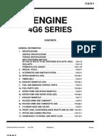 Mitsubishi Engine 4G6