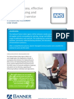 Literature Fulfilment Case Study - NHS NPSA