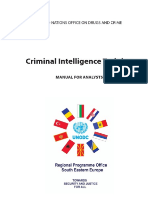 Criminal Intelligence Training - UN Analyst Manual | Intelligence
