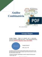 Matemática_Analise Combinatória