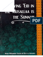 Praying Eid in the Musallaa is the Sunnah