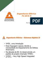 Sistemas DigitaisII Anhanguera 7A Intro FPGA e VHDL Parte1