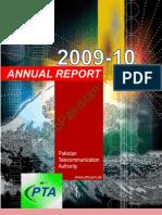 Pakistan Telecom PTA Annual Report 2009 2010 (1)