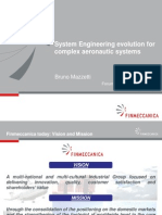 Finmeccanica - System Engineering evolution for complex defence aeronautics systems