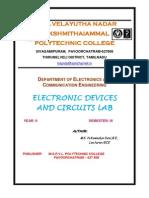electronic circuits i lab manual rectifier amplifier
