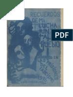 Recuerdos_de_mi_lucha_Vivencias, Luis Corvalán