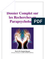 Dossier Complet Sur Parapsychologie