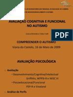 Avaliação Cognitiva e Funcional no Autismo