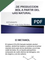 Planta de Produccion de Metanol a Partir Del