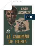 La Campana de Rusia Leon Degrelle