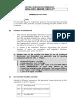 Sec Fs Checklist