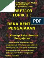 17563561 Hbef3103 Reka Bentuk Pengajaran