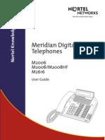 M2006 M2008 M2616 User Guide