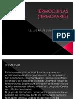 TERMOCUPLAS (TERMOPARES)