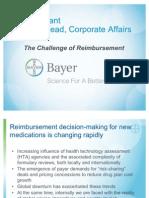 The Challenge of Reimbursement