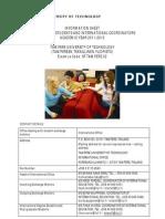 Info Sheet 2011-2012