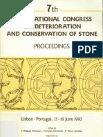 4 - De Witte + Bos 1992 Conservation of Ferruginous Sandstone Used in Northern Belgium