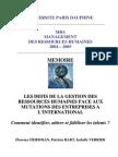 MEMOIRE GROUPE5 Les Defis de La Gestion Des Ressources Humaines