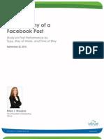 Facebook Post Optimization