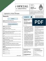 Boletín Oficial 28-06-2011