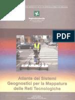 Atlante Dei Sistemi Geognostici Per La Mappatura Delle Reti Tecnologiche