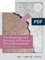 The Properties and Selection of Posterior Direct Restorations