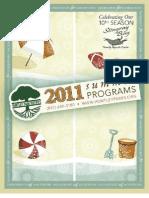 Summer 2011 Brochure