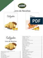Livro Receitas VITAO Pastel de Forno Light