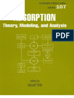Adsorption - Theory Modeling and Analysis Toth Marcel Dekker