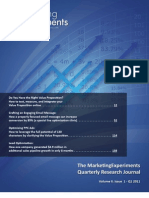 The MarketingExperiments Quarterly Research Journal, Q1 2011