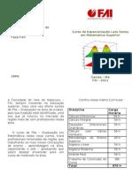 Folder Especilização FAI 2011