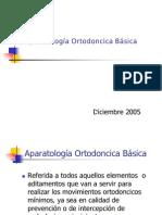 Aparatología Ortodoncica Básicaa