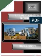 Estilos y tendencias arquitectonicas