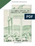 La Obra Social de Espana en America Sigfredo Hillers de Luque