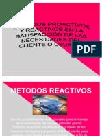 Metodos Proactivos y Reactivos