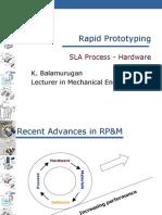 RP - SLA - Hardware