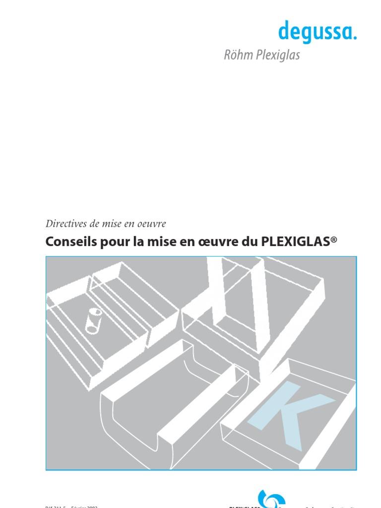 Plexiglas Mise En Oeuvre