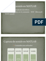Captura de Sonido en MATLAB