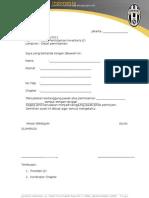Surat Peminjaman inventaris
