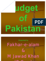Budget of Pakistan