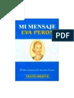 Mi Mensaje Eva Peron