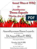 Lupardo Blues & BBQ 2011 Invitation & RSVP