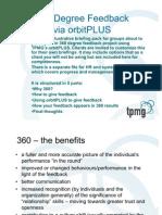 360 Degree Feedback - Sample Briefing Material