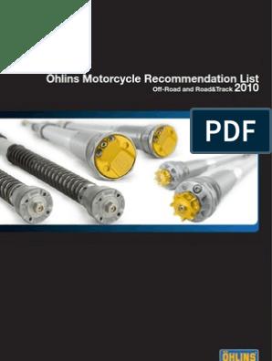 2010-ohlins | Vehicle Technology | Motorcycling