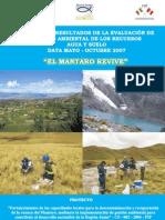Avance Resultados Proyecto Mantaro Revive