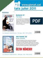 Novedades Glénat Julio 2011 (Catalán)