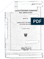 NACA-TR-927 Appreciation and Prediction of Flying Qualities