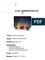 6to Lab Acidos Carboxilicos