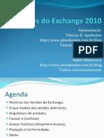 Novidades Do Exchange 2010